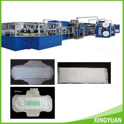 China Sanitary Pad Machine Production Line Sanitary Napkin Machine