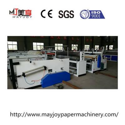 China Toilet Roll Making Machine Toilet Paper Machine Toilet Tissue Rewinding Machinery
