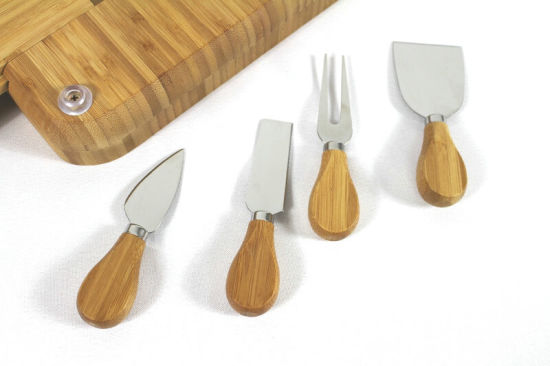 China Cheese Board Husk Board Cheese Cutting Board pictures & photos