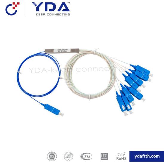 China PLC Splitter Mini Type Fiber PLC Splitter