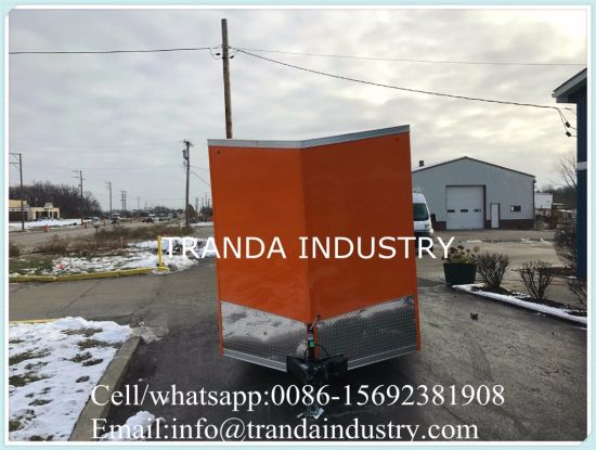China Street Fast Food Cart Snack Carts Waffle Catering Enquipment