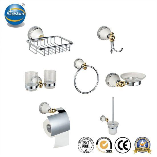 China Bathroom Accessory Towel Bar Hardware Set