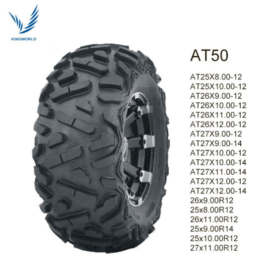 China Kingworld BrTubeless ATV Tyre 25X8-12 25X10-12 China ATV Tire China Good Design ATV Tire