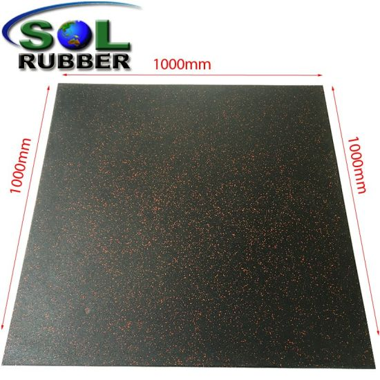China Rubber Mat Gym Flooring Rubber Flooring Rubber Floor From