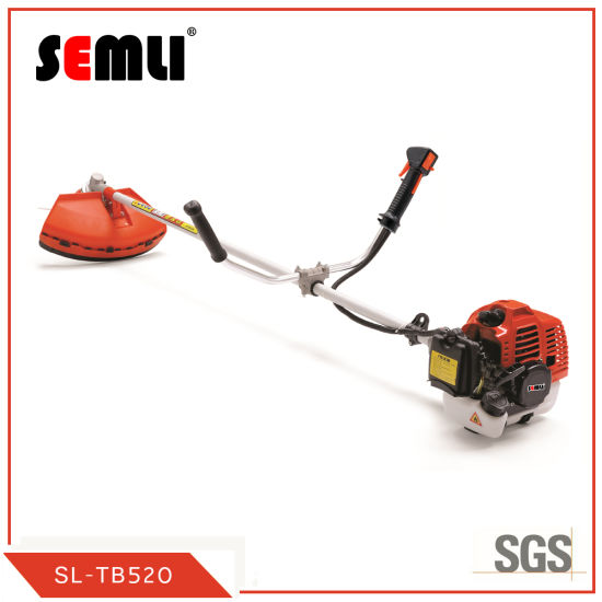 China Low Price China Wholesale 52cc Gasoline Grass Eater Brush Cutter with Metal Blade Nylon Cutter