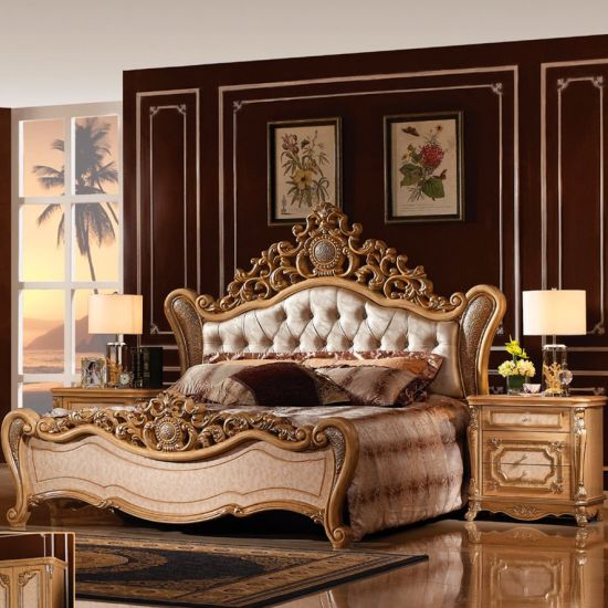 China Bedroom Furniture Classic Bed Home Furniture