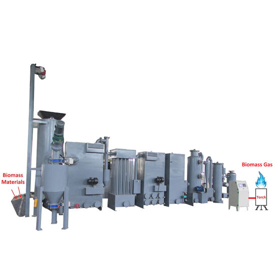 China Biomass Gasifier Wood Chip Power Plant