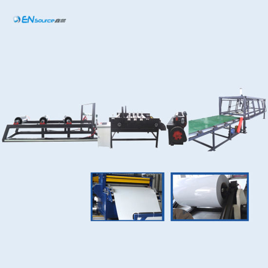 China Solar Water Heater Cutting Machine Solar Water Heater Machinery