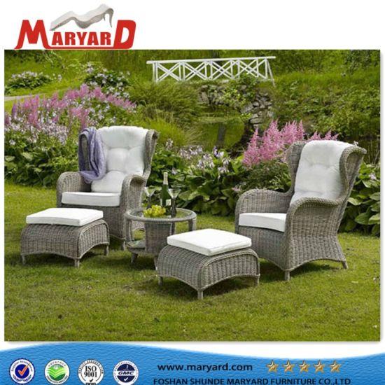 China Outdoor Furniture Wicker Sectional Sofa PE Rattan Furniture