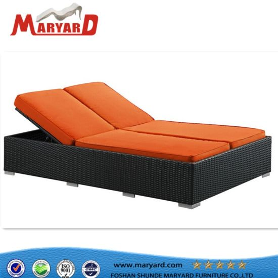 China Chaise Lounge Daybed Outdoor Sunbed Upholstered Daybed
