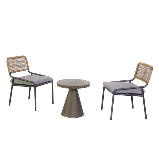 China Rattan Table Chair Set Rattan Furniture PE Rattan Furniture