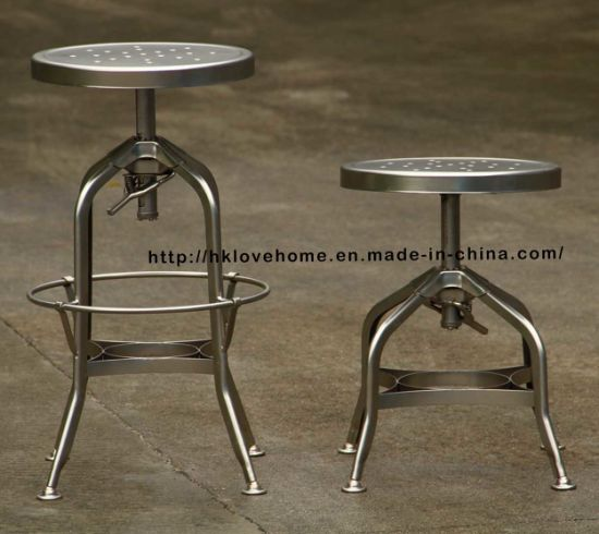 China Bar Stools Steel Chair Industrial Chair