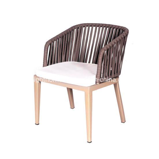 China Rope Chair Rattan Chair Aluminum Chair