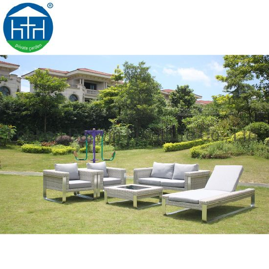China Wicker Lounge 2019 New Model Wicker Couch
