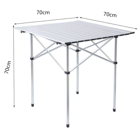 Enjoyable China Folding Table Aluminium Table Square Table Download Free Architecture Designs Scobabritishbridgeorg