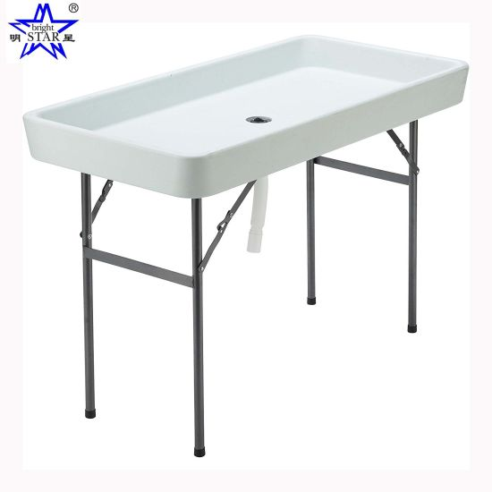 China Ice Table Folding Table Fish Cleaning Table