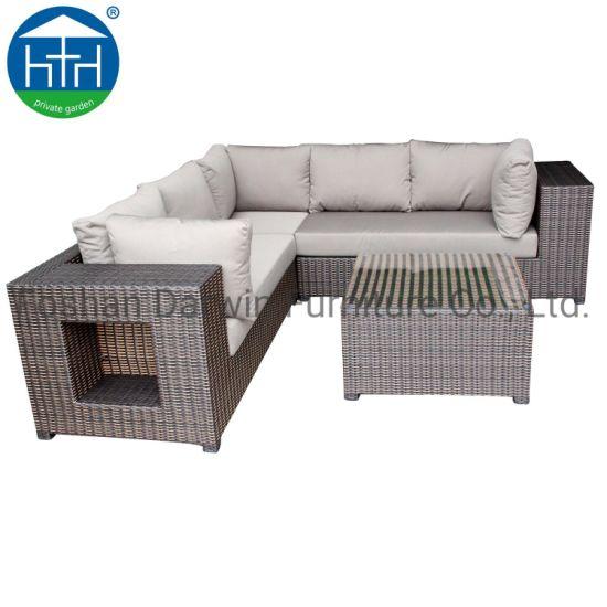 China Patio Rattan Sofa Leisure Furniture Set Patio Sofa Set