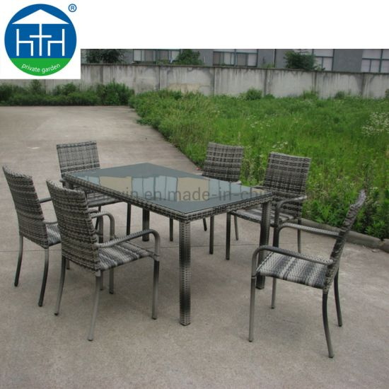 Outstanding China Patio Outdoor Furniture Bench Rattan Dining Set Rattan Balcony Chair Pabps2019 Chair Design Images Pabps2019Com