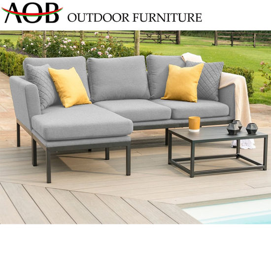 Remarkable China Chinese Customized Outdoor Hotel Garden Furniture Sets Square Fabric Poolside Corner Sofa Chin Alphanode Cool Chair Designs And Ideas Alphanodeonline