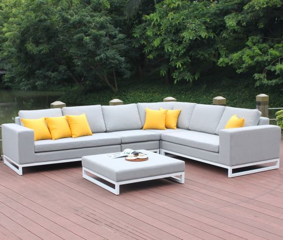Groovy China Fabric Covered Sofa Set Outdoor Fabric Furniture Aluminum Frame Fabric Sofa Dailytribune Chair Design For Home Dailytribuneorg