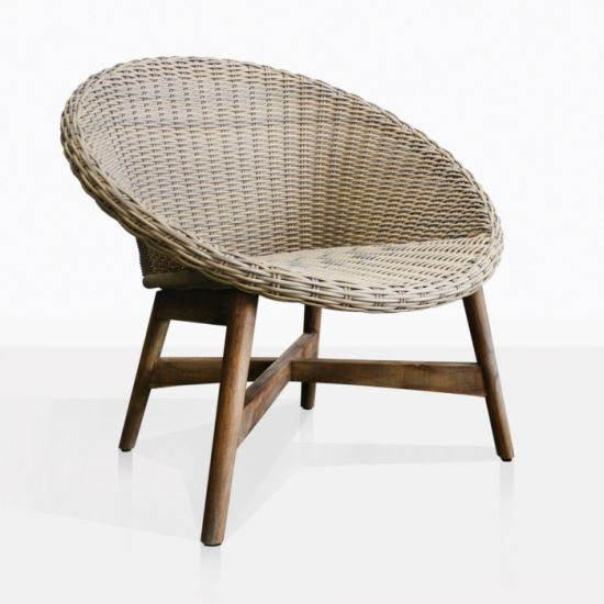 China Rattan Dining Chair Wooden Dining Chair Outdoor Rattan Furniture