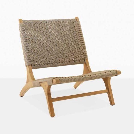 China Teak Rattan Chigaro Chokunze Teak Chigaro Wood Dining Chairs