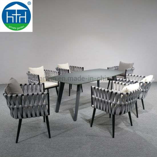 Fantastic China Garden Dining Sets Outdoor Rope Furniture Patio Table Chair Onthecornerstone Fun Painted Chair Ideas Images Onthecornerstoneorg