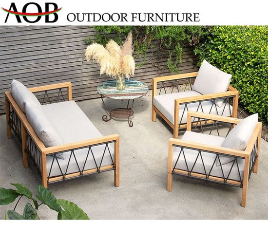 China Chinese Modern Patio Outdoor Garden Furniture Aluminium