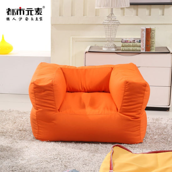 China Creative Lazy Couch Bean Bag Tatami Sofa Small Apartment Sofa for Hotel Apartment