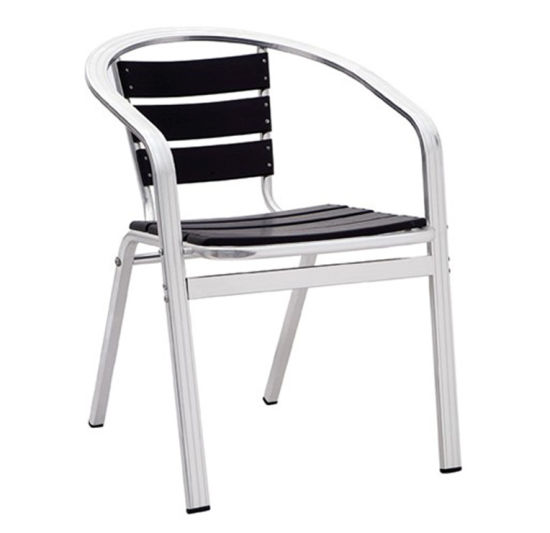China Light Weight Teak Garden Outdoor Restaurant Furniture Patio Bar Stool Chair