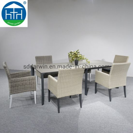 Groovy China Luxury Outdoor Furniture Pe Rattan Garden Wicker Patio Table Chair Caraccident5 Cool Chair Designs And Ideas Caraccident5Info