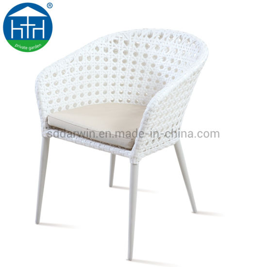 China New Model Outdoor Furniture Bistro Synthetic Woven Rattan Wicker Cafe Chair