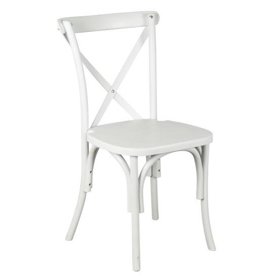 Awe Inspiring China Resin Plastic Cross Back Chair As Dining Chair Inzonedesignstudio Interior Chair Design Inzonedesignstudiocom