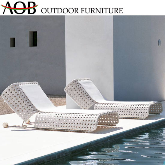 Admirable China Garden Rope Woven Sunbed Outdoor Daybed With Table Swing Chair Sofa Bed Furniture Uwap Interior Chair Design Uwaporg