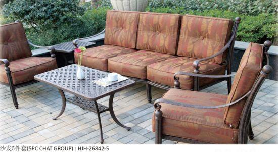 China Sofa Outdoor Sofa Patio Rattan Sofa Garden Rattan Sofa pictures & photos