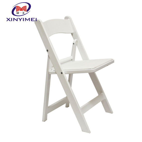 Admirable China White Padded Resin Party Folding Chair Squirreltailoven Fun Painted Chair Ideas Images Squirreltailovenorg