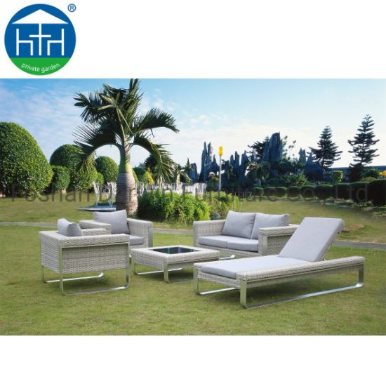 Groovy China 2019 New Design Hot Sell Rattan Garden Outdoor Furniture Sofa Set Eco Friendly Interior Design Ideas Clesiryabchikinfo