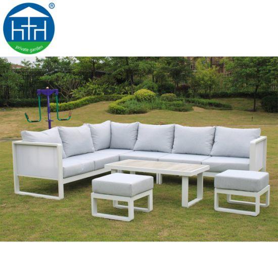 Terrific China Modern Outdoor Aluminium Fabric Sectional Sofa Garden Furniture Creativecarmelina Interior Chair Design Creativecarmelinacom