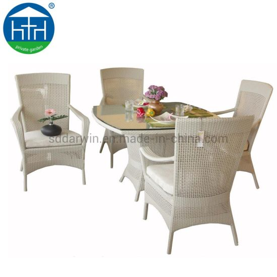 Incredible China Modern Outdoor Backyard Wicker Rattan Patio Dining Set Furniture Garden Pe Rattan Dining Table Short Links Chair Design For Home Short Linksinfo