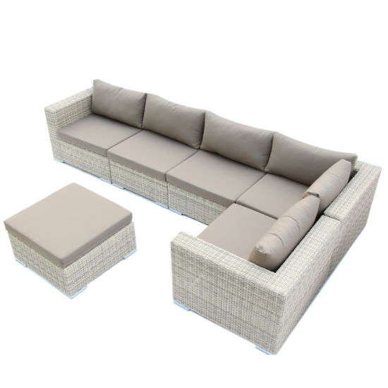 Stupendous China Outdoor Garden Furniture Half Round Wicker Sectional Sofa Onthecornerstone Fun Painted Chair Ideas Images Onthecornerstoneorg