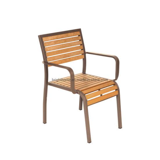 Strange China Aluminium Outdoor Plywood Garden Coffee Shop Arm Chair Creativecarmelina Interior Chair Design Creativecarmelinacom