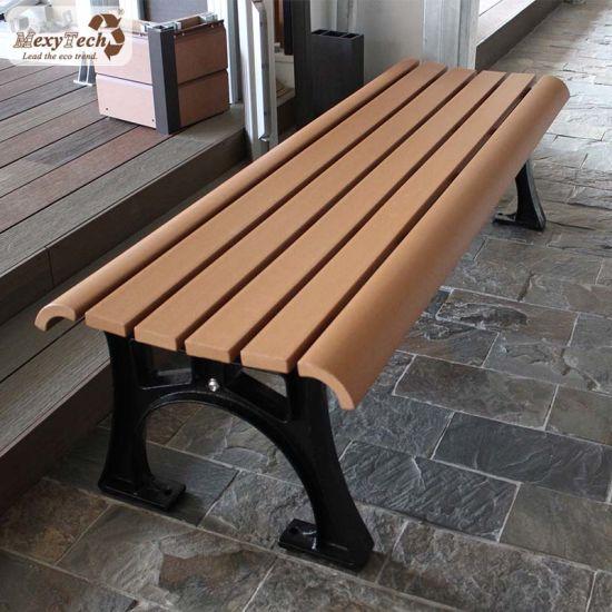 Sensational China Waterproof Park Seating Long Backless 3 Seat Wooden Bench Machost Co Dining Chair Design Ideas Machostcouk