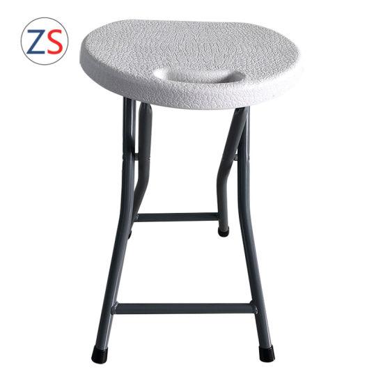 Pleasing China Cheaper Blow Molding Hdpe Folding Stool Inzonedesignstudio Interior Chair Design Inzonedesignstudiocom
