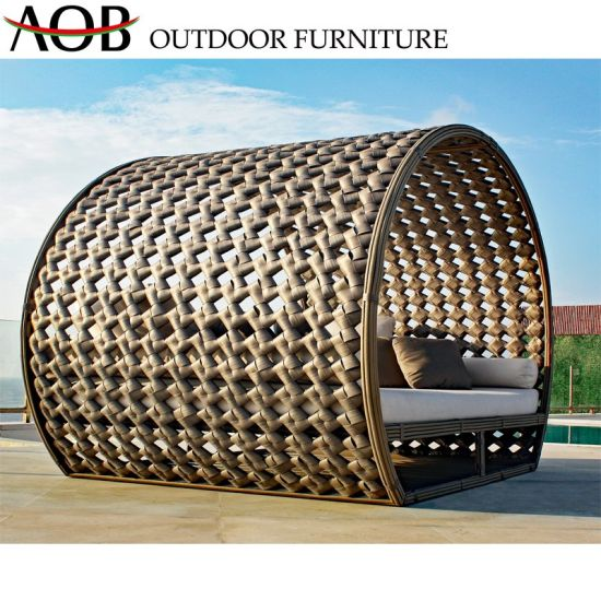 China Outdoor Garden Patio Hotel Furniture Aluminum Adjustable Sun Lounger Chaise