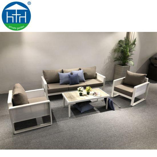 Brilliant China Rattan Outdoor Furniture White Rattan Garden Sofa Sets Wicker Big Sectional Sofa Set Cjindustries Chair Design For Home Cjindustriesco
