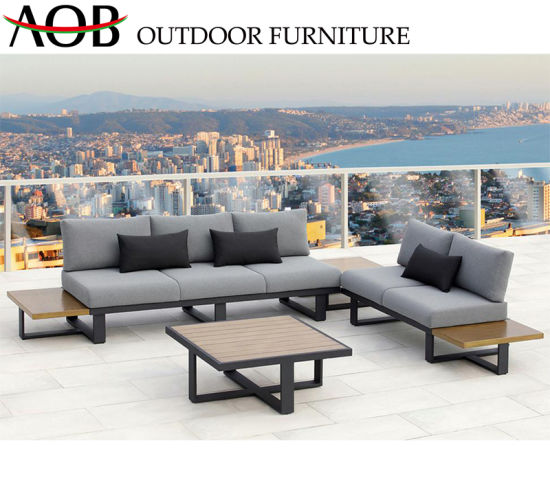 Excellent China Wholesale Outdoor Garden Furniture Aluminium Furniture Patio Table Sofa Set Theyellowbook Wood Chair Design Ideas Theyellowbookinfo