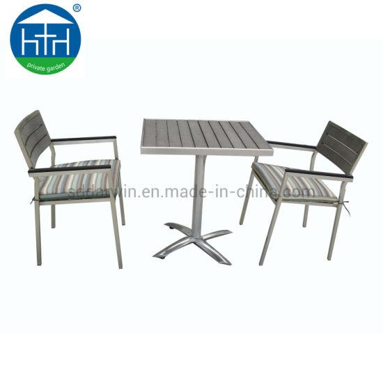 Wondrous China European Design Aluminum Outdoor Polywood Chair Table Set Garden Restaurant Outdoor Patio Furn Theyellowbook Wood Chair Design Ideas Theyellowbookinfo