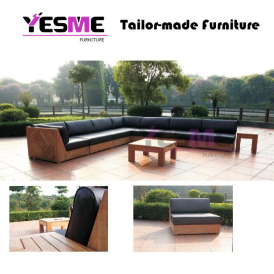 Enjoyable China Outdoor Waterproof Fabric Sofa Set Patio Teak Furniture Outdoor Sofa Dailytribune Chair Design For Home Dailytribuneorg