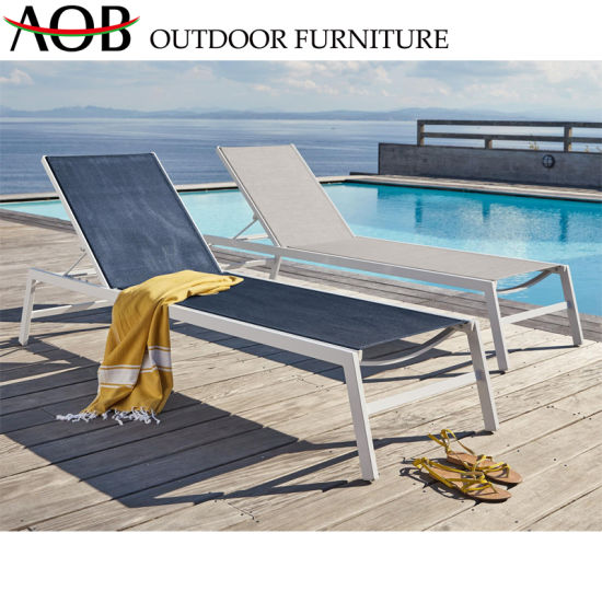 Wondrous China Outdoor Garden Furniture Foldable Sun Lounger Chairs Machost Co Dining Chair Design Ideas Machostcouk