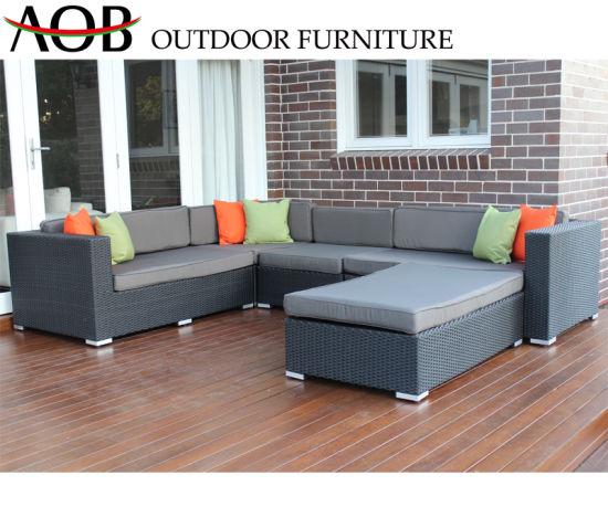 Wondrous China Stackable Outdoor Garden Patio Dining Sofa Sets Rattan Sectional Lounge Sofa Furniture Inzonedesignstudio Interior Chair Design Inzonedesignstudiocom
